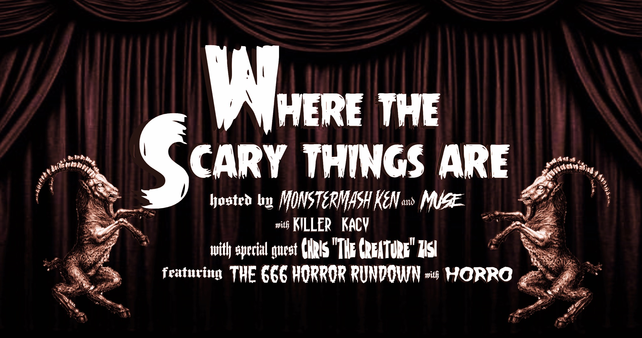 Where The Scary Things Are Podcast